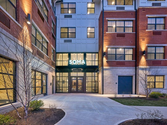 Leasing has officially opened at SOMA, delivering the newest upscale rental building to the downtown scene in Somerville.
