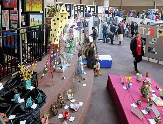Volunteers are needed for The Union County Teen Arts Festival onThursday, March 14, and Friday, March 15.