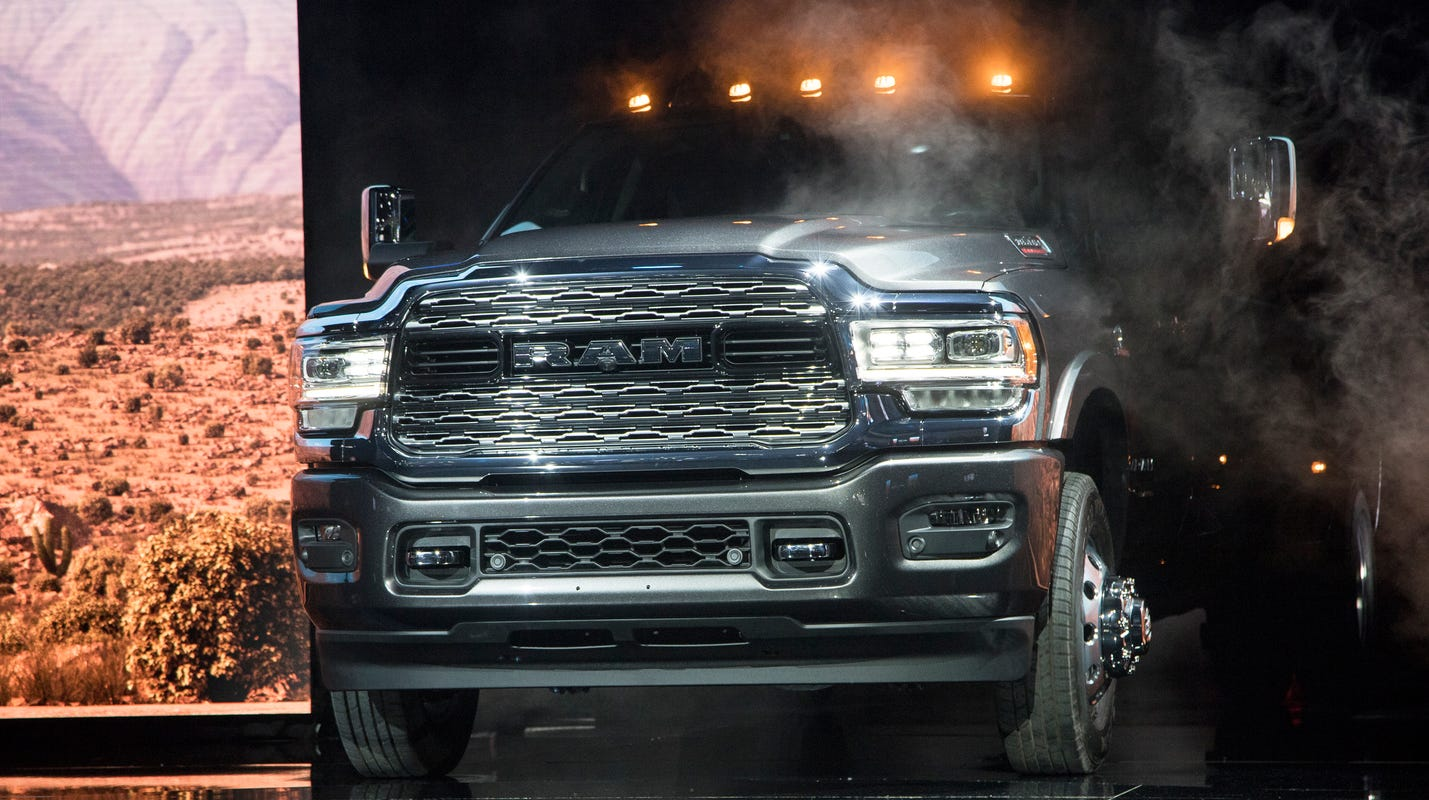 Detroit auto show: FCA's Ram Heavy Duty can tow 35,000 pounds
