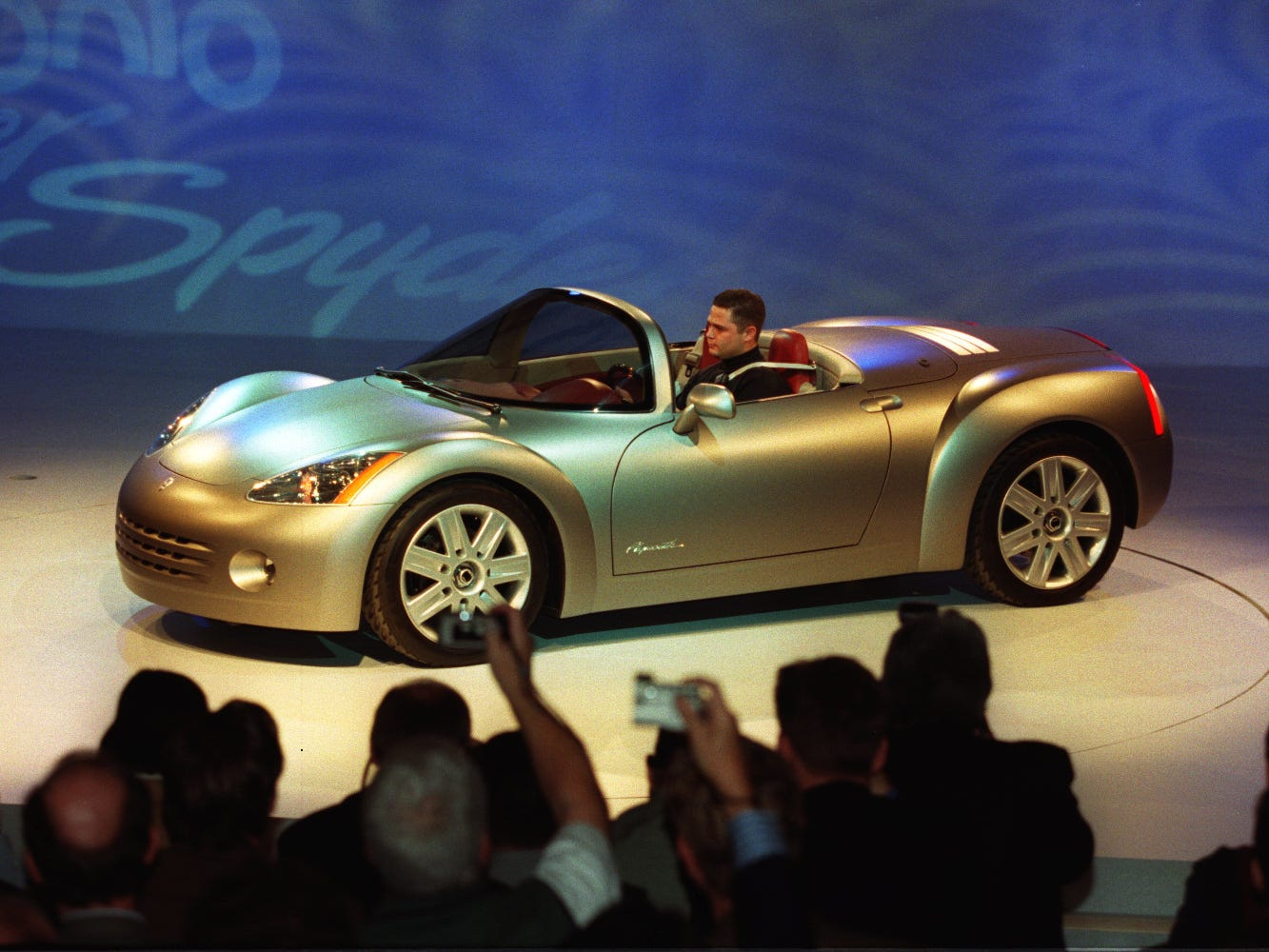 Chrysler unveiled the Spyder concept in 1998 at the Detroit Auto show.