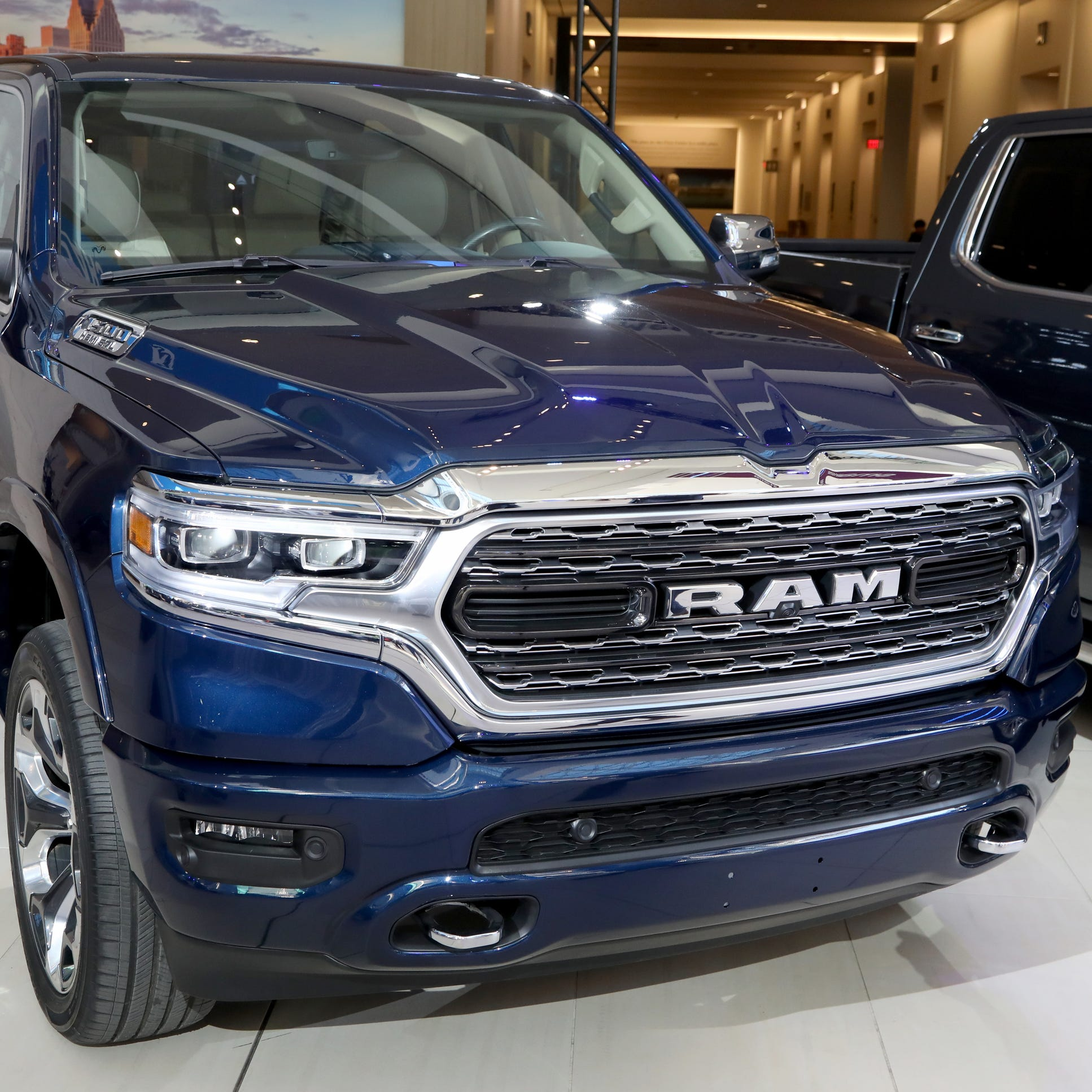 Ram drives Fiat Chrysler's first-quarter profits, which drop 47% from a year ago