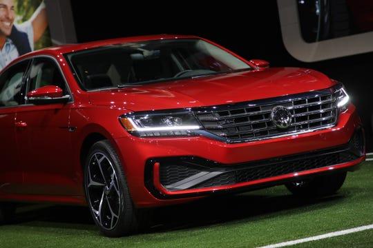 Detroit Auto Show Vw Unveils 2020 Passat Sedan