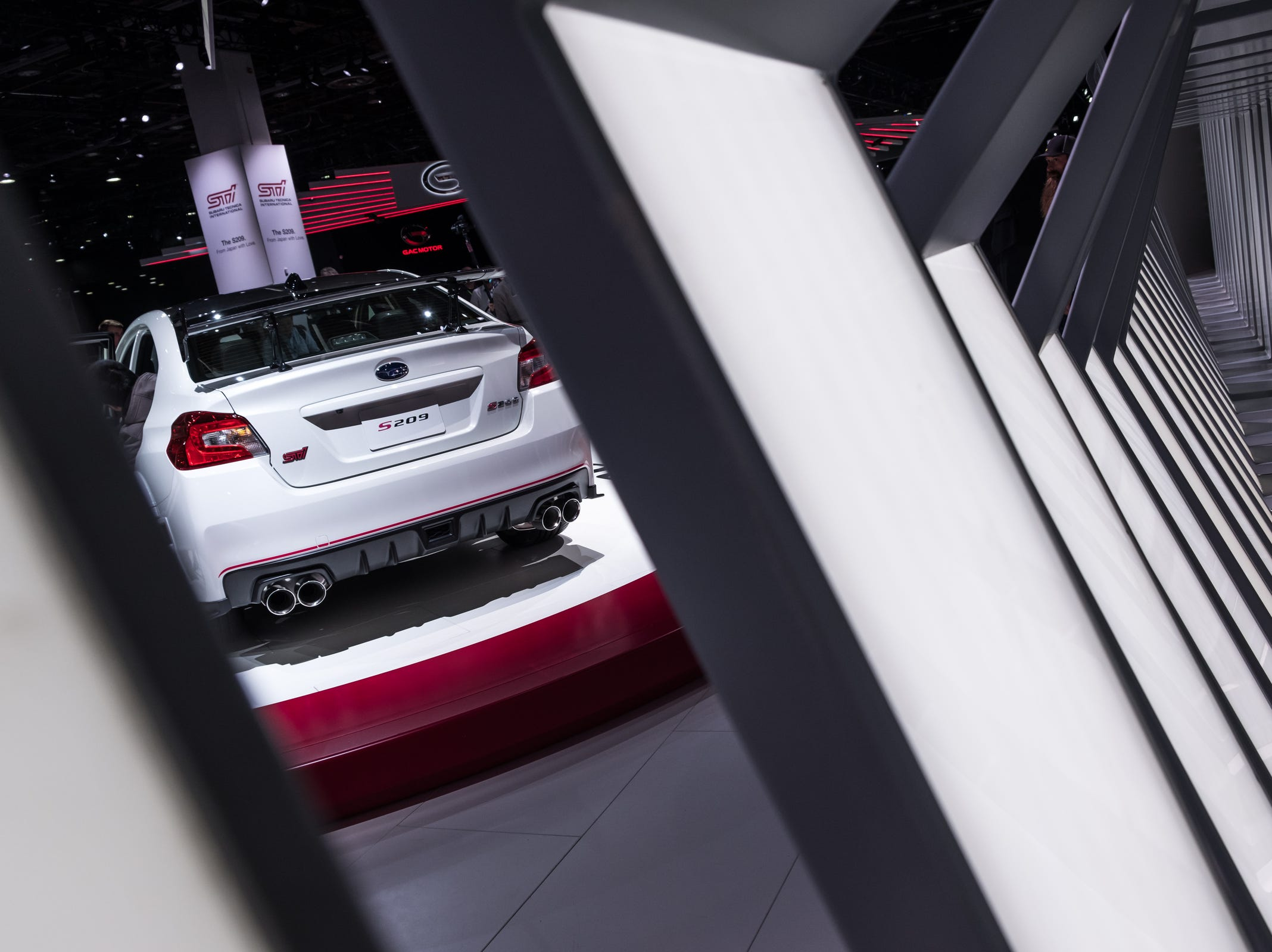 The 2020 Subaru S209 is seen during the 2019 North American International Auto Show held at Cobo Center in downtown Detroit on Monday, Jan. 14, 2019.