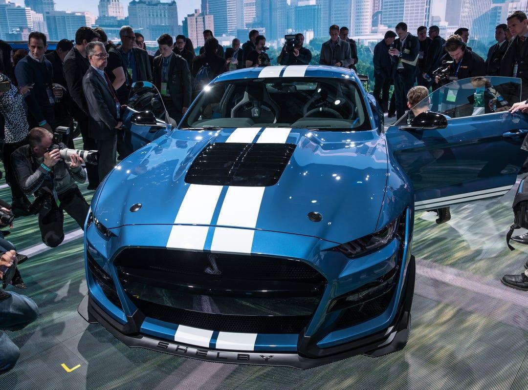 13 must-see vehicles at auto show: Muscular Mustang; Cadillac, Kia SUVs; Mahindra Roxor