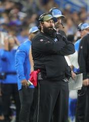 Lions coach Matt Patricia.