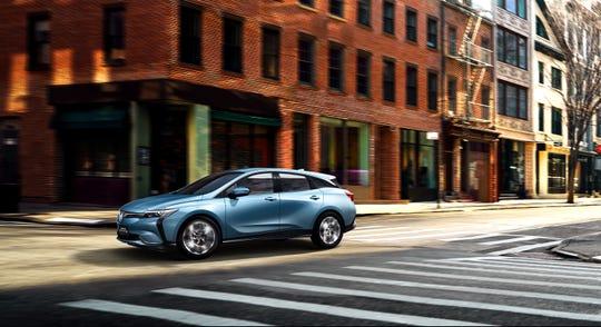 Buick VELITE 6 electric vehicle.