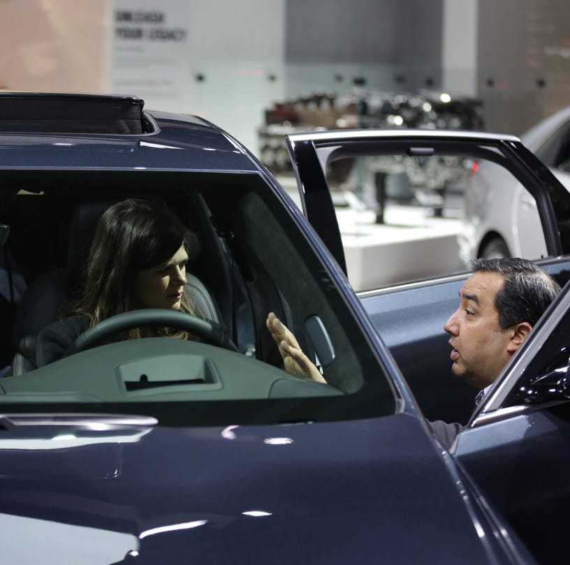 7 questions with Congresswoman Haley Stevens at Detroit auto show