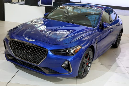 The Genesis G70 won the North American Car of the Year.