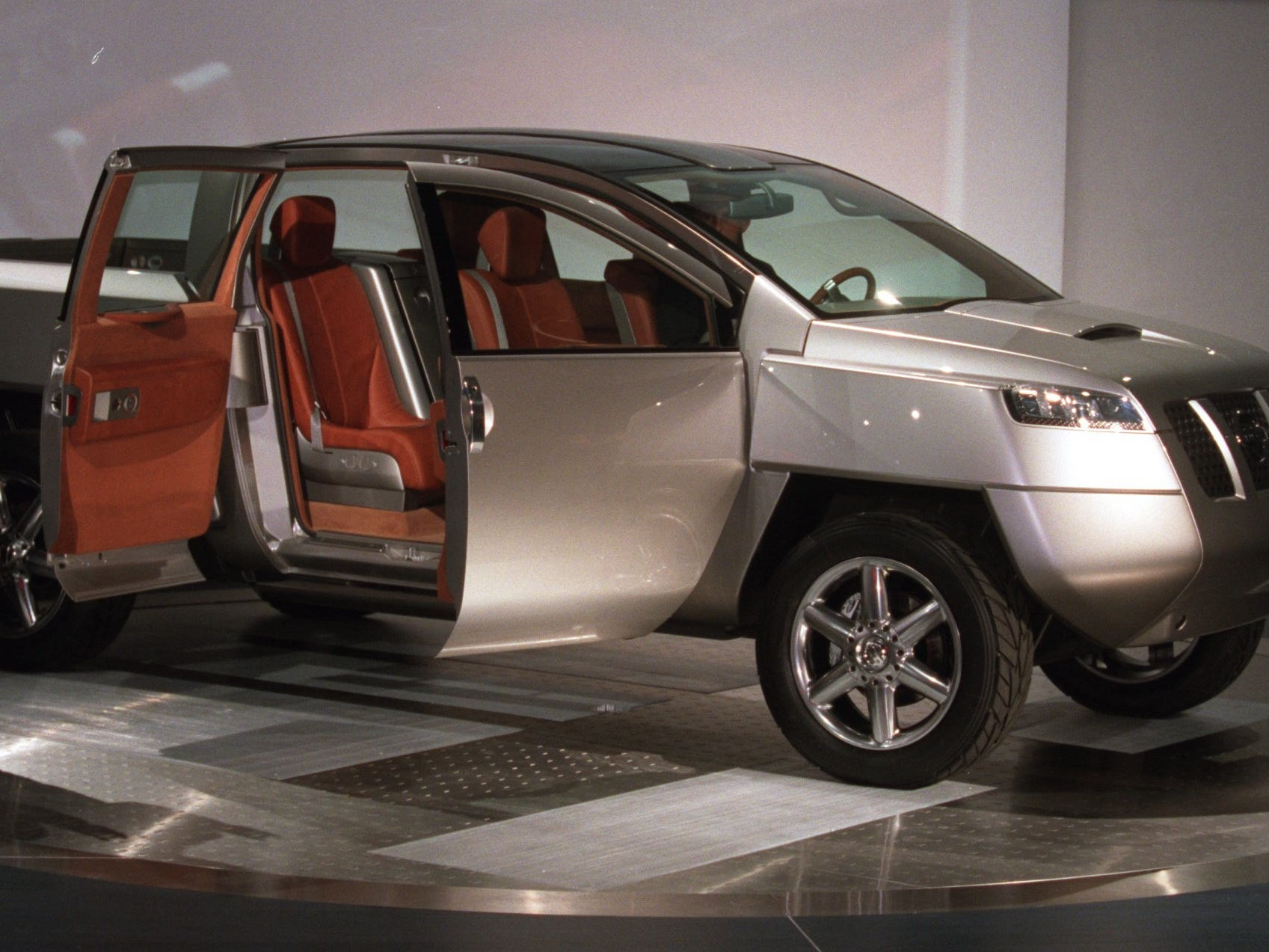 Nissan introduced the Alpha T Concept at the North American International Auto Show at Cobo Center in Detroit.