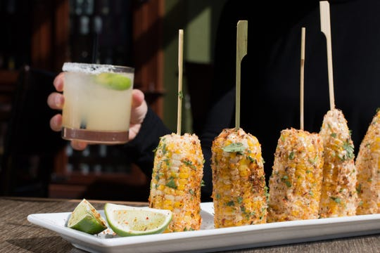Mexican Street Corn is new at HopCat