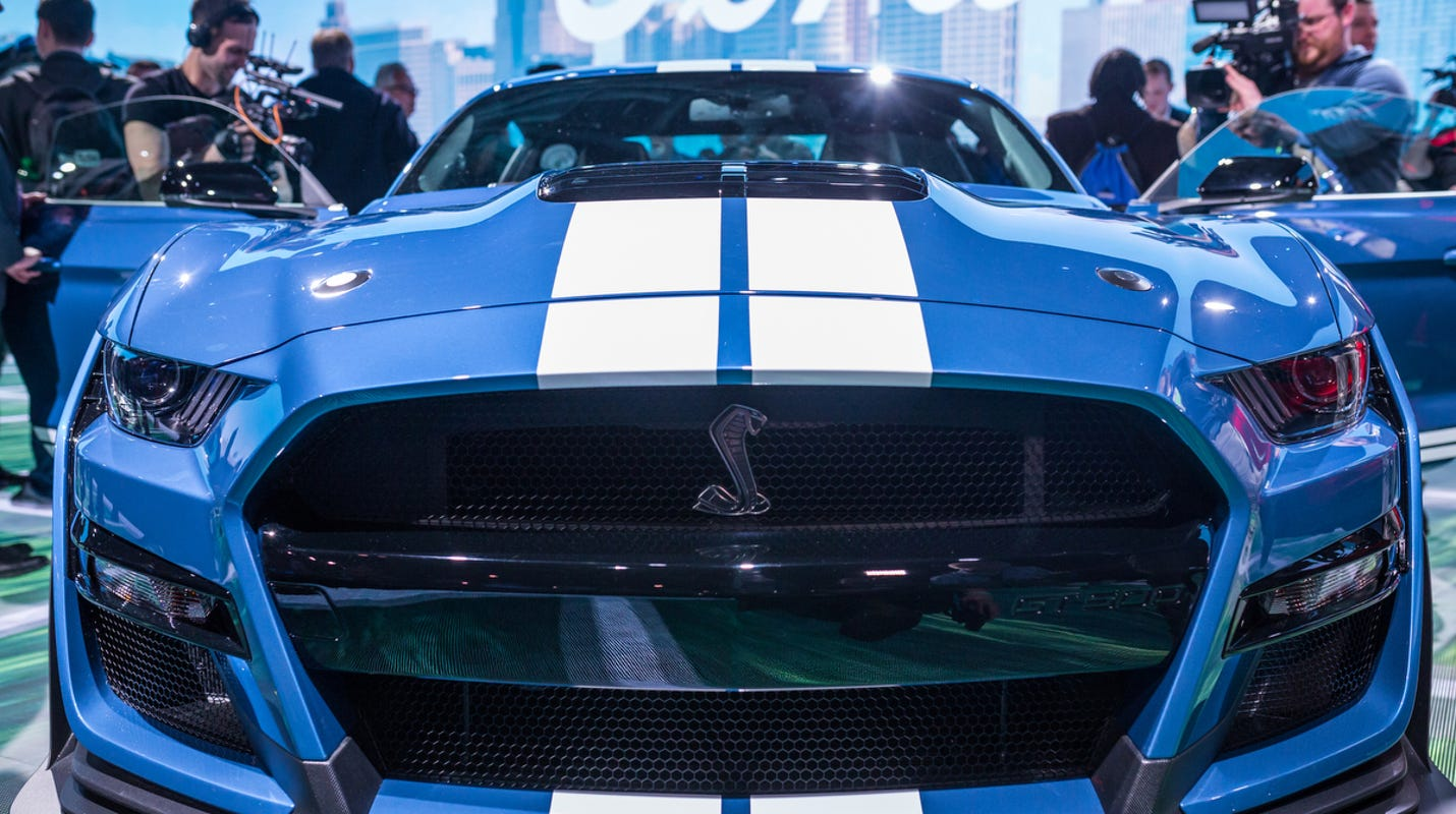 2020 shelby gt 500 mustang debuts at detroit auto show