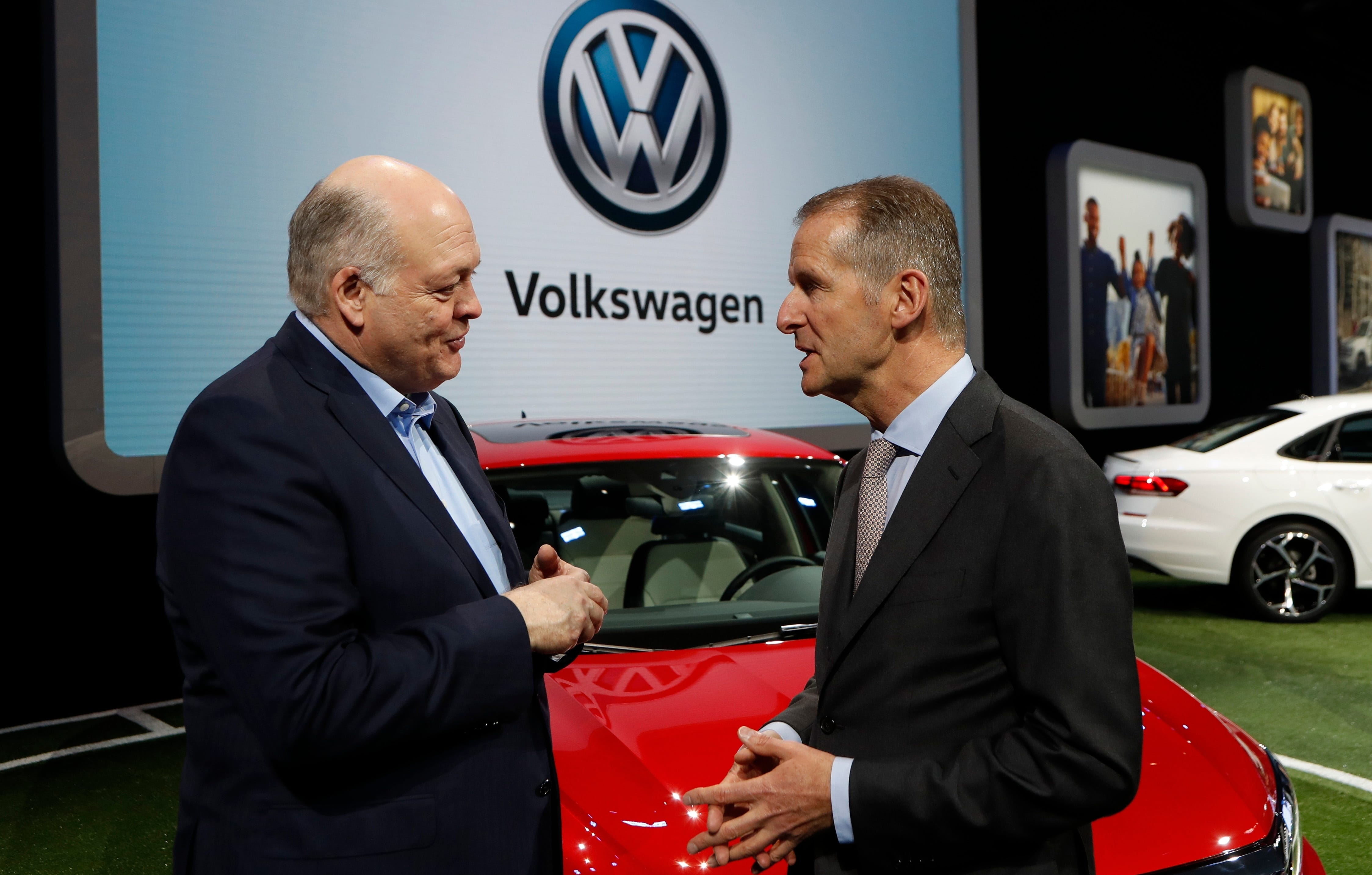 Volkswagen, Ford alliance: The start of a complicated friendship at the Detroit auto show
