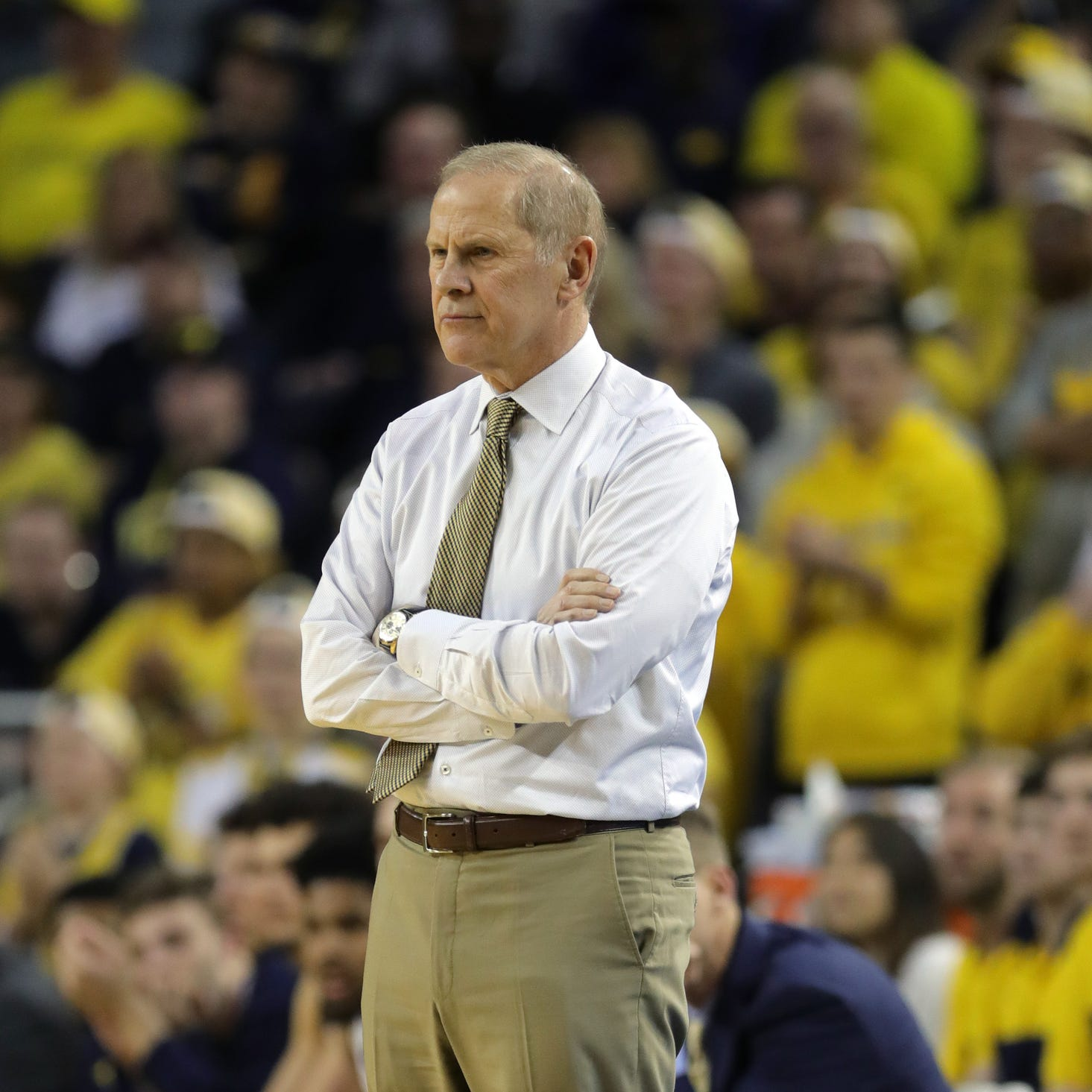 As Michigan plays for No. 1 spot, John Beilein stresses little things