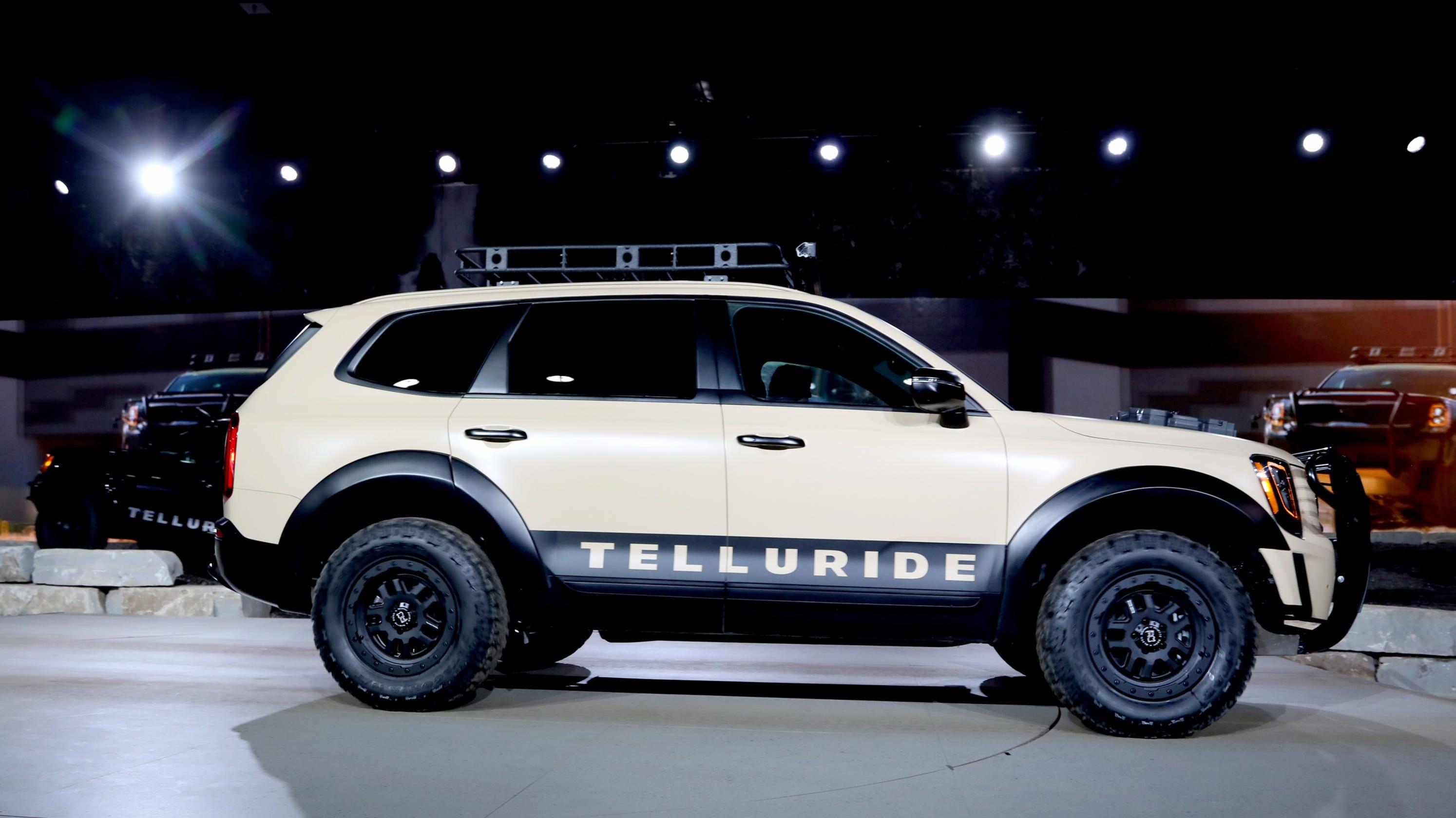 Kia Bill Pay >> Kia Telluride: Its largest SUV revealed at Detroit auto show