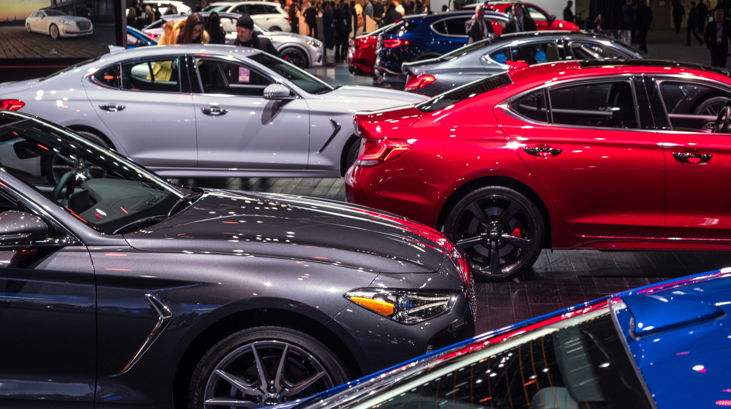 Detroit Auto Show's Best: Mustang, Electric SUV, Ritzy Kia