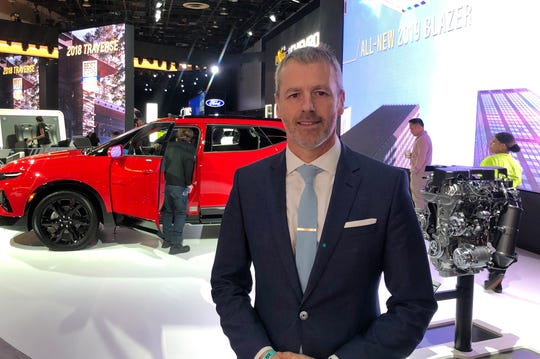 Steve Majoros, marketing director for Chevrolet Cars and Crossovers.