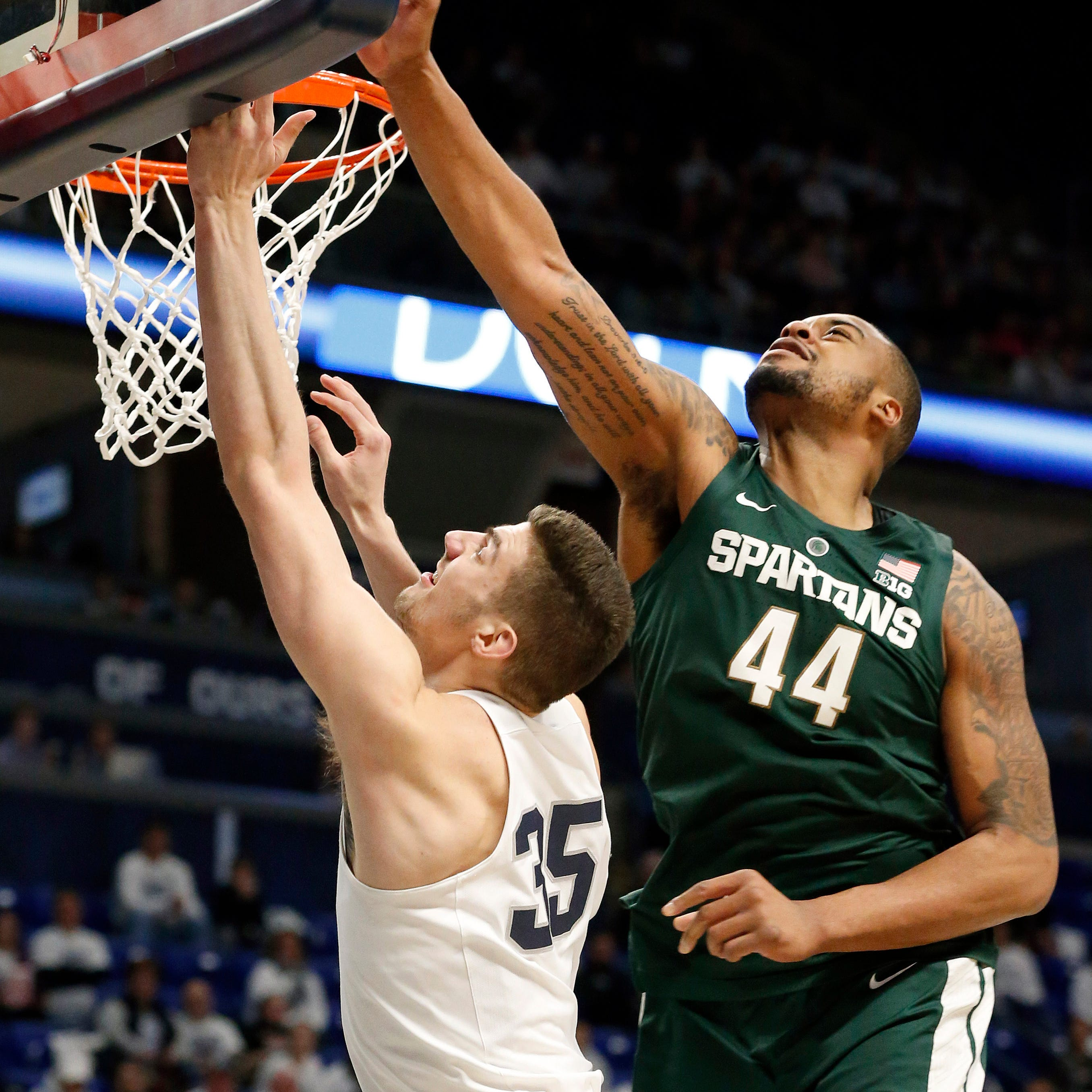 Michigan State basketball thinking Nebraska; buzz of Michigan game grows