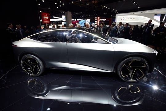 While the Nissan IMs isn't likely to go into production soon, the automaker says it's a good indication of how they imagine their future cars.