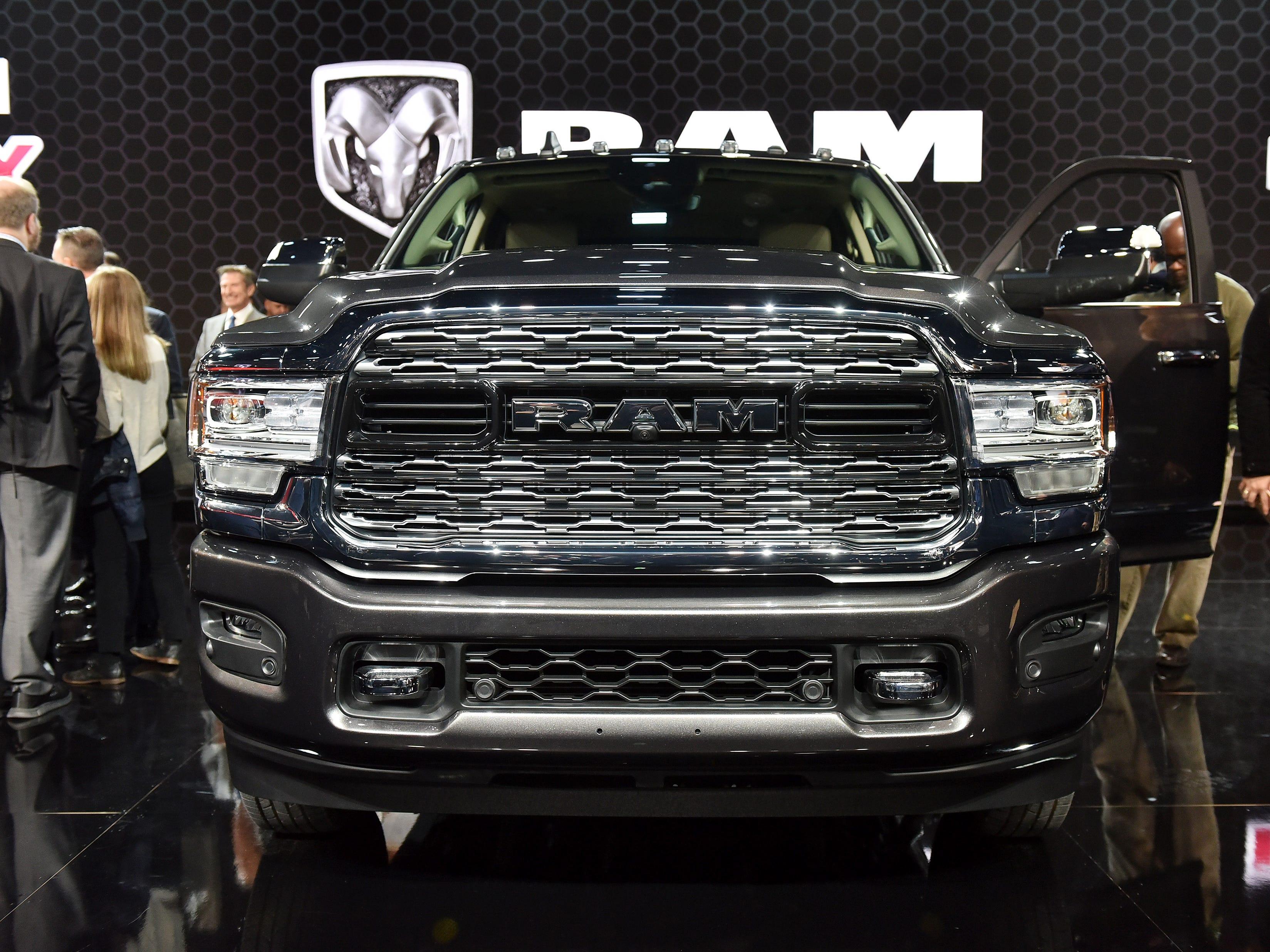The 2019 Ram Heavy Duty 3500.