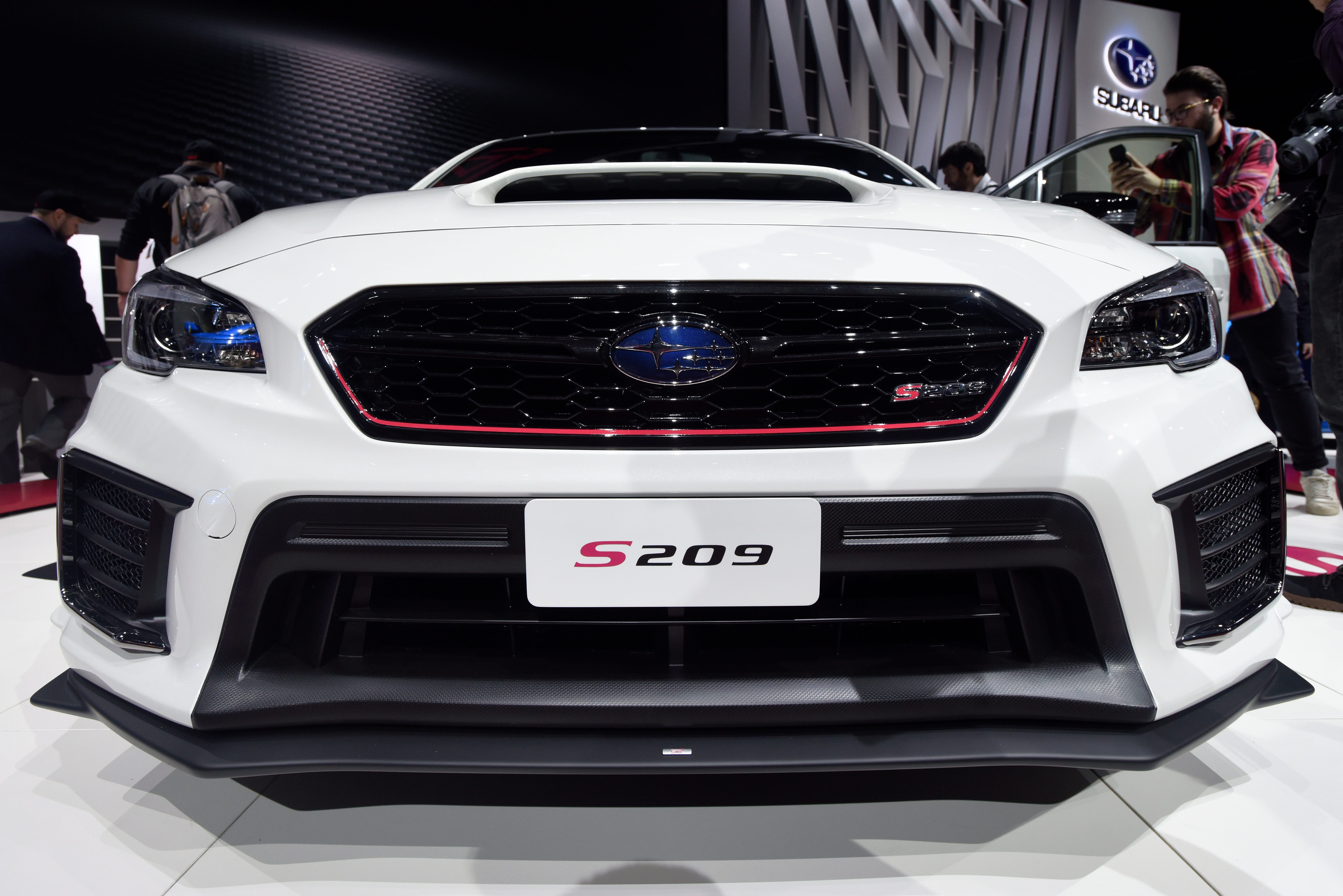 subaru to launch its most powerful car ever detroit news