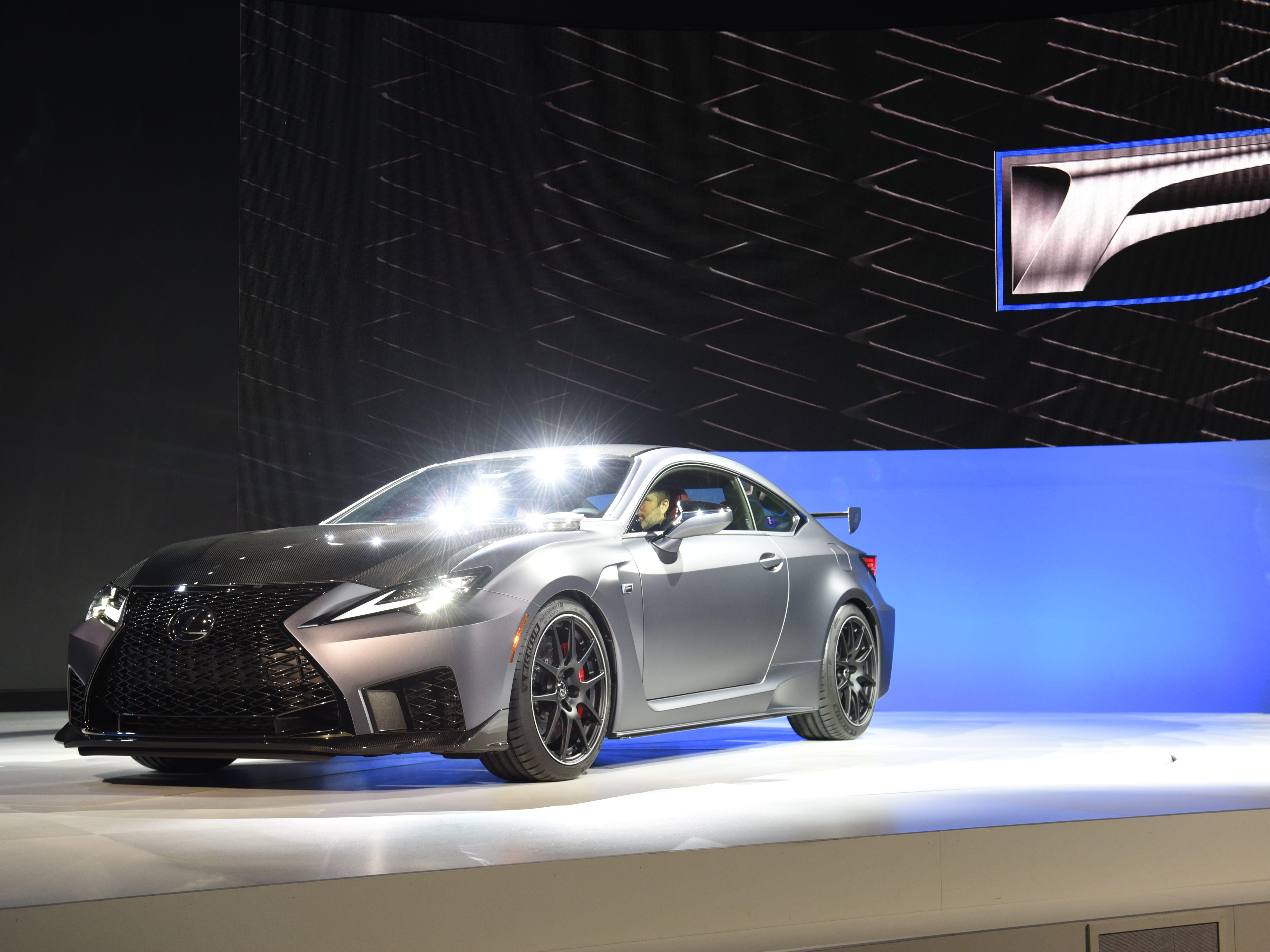 The Lexus RC F Track Edition