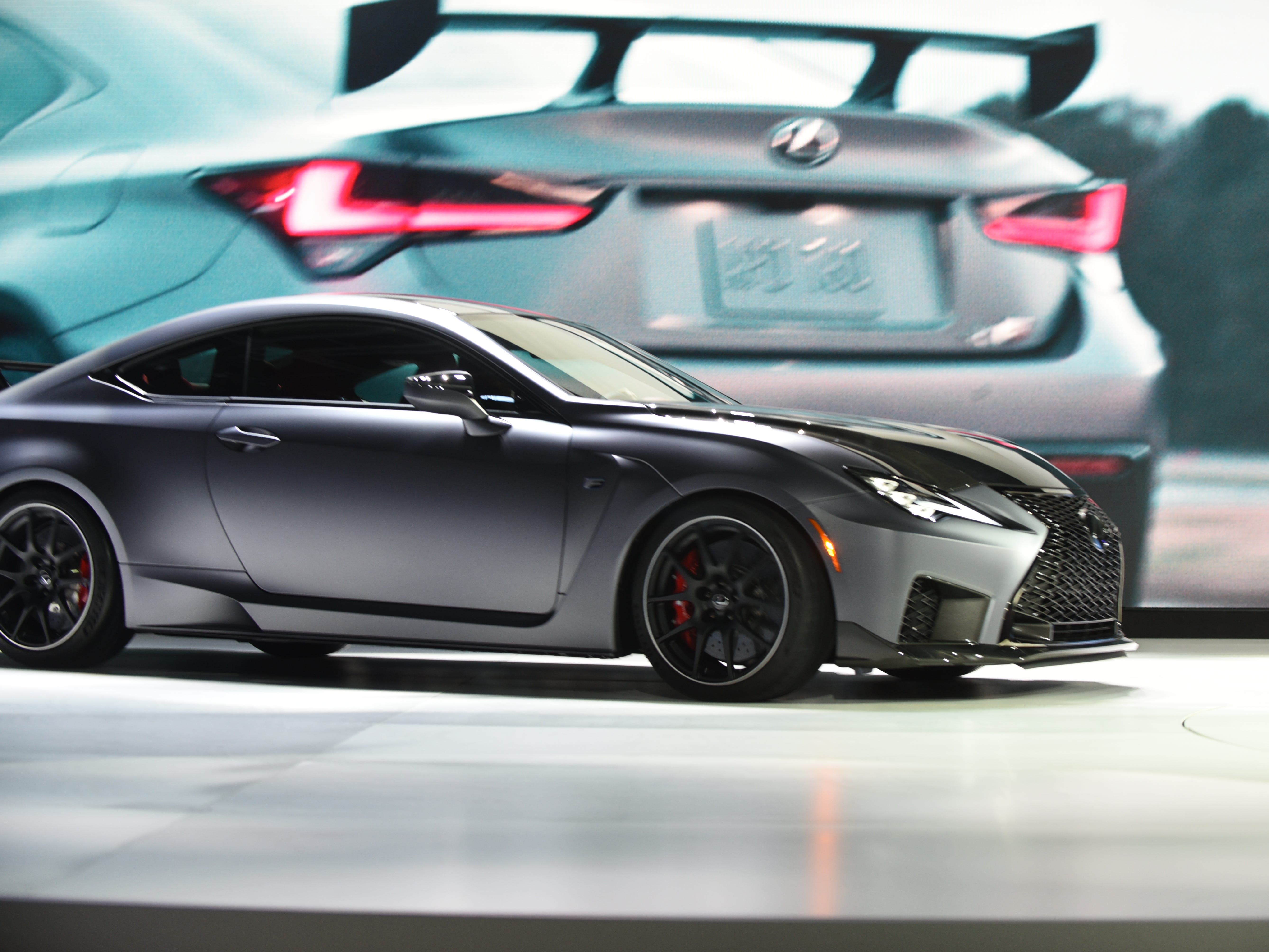 This is the Lexus RC F Track Edition.