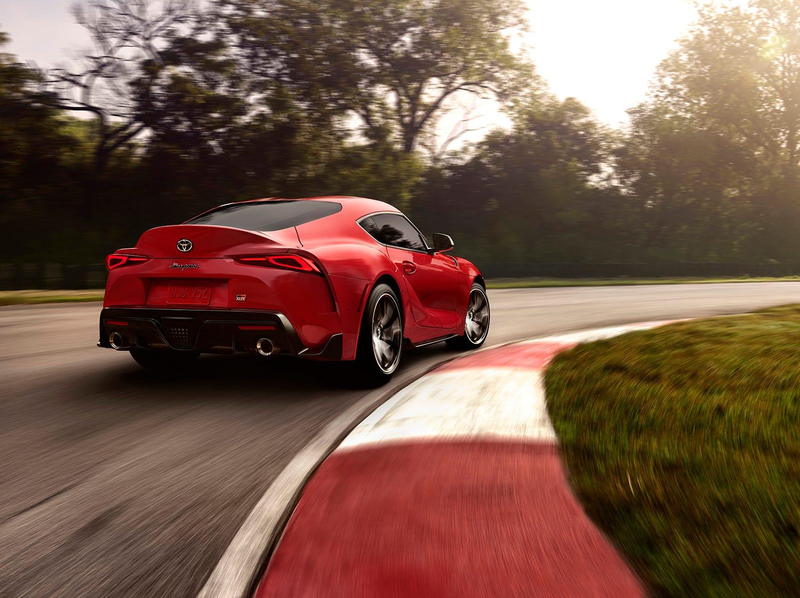 The 2020 Toyota Supra