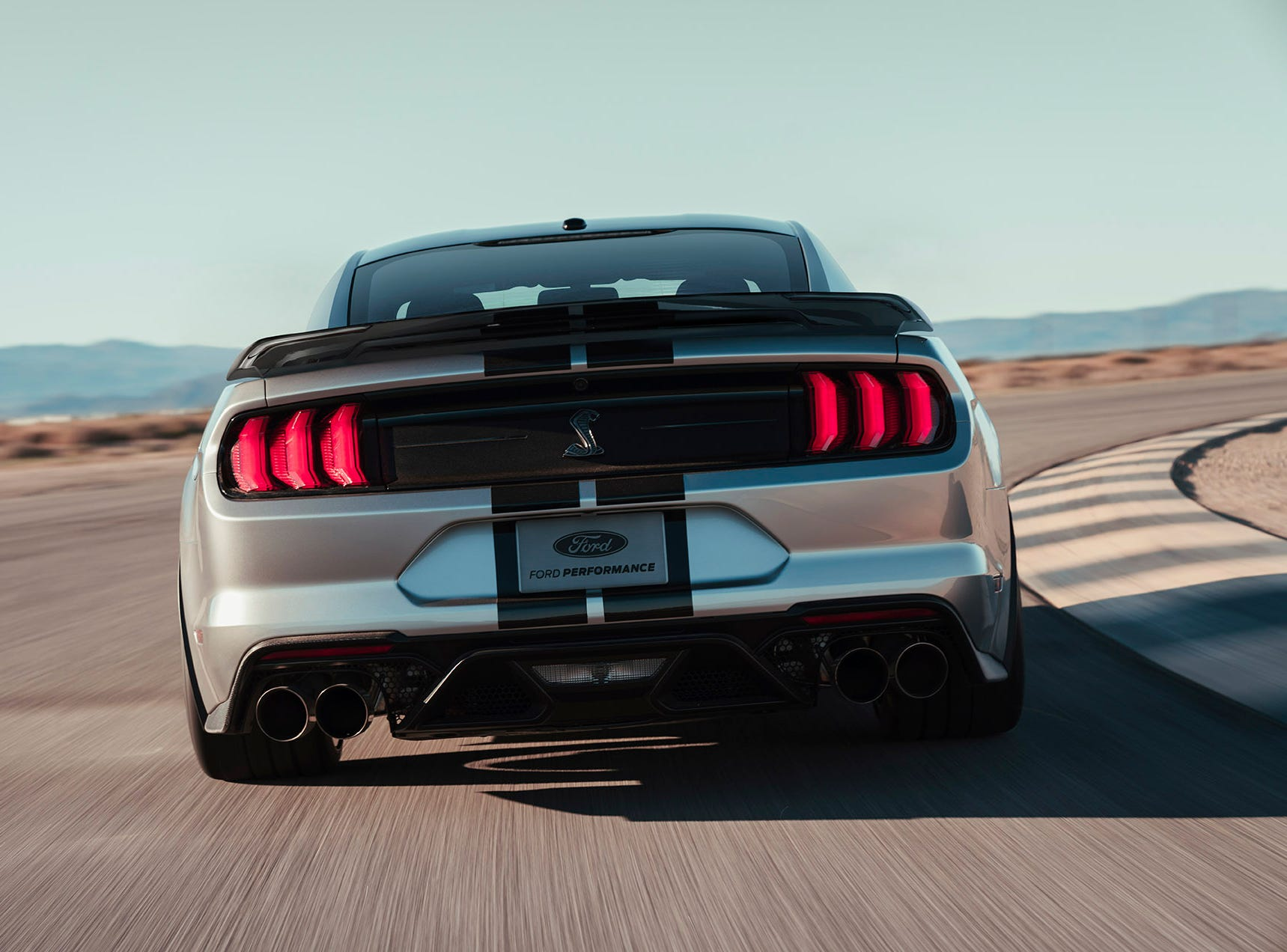 The all-new Shelby GT500 — the pinnacle of any pony car ever engineered by Ford Performance.