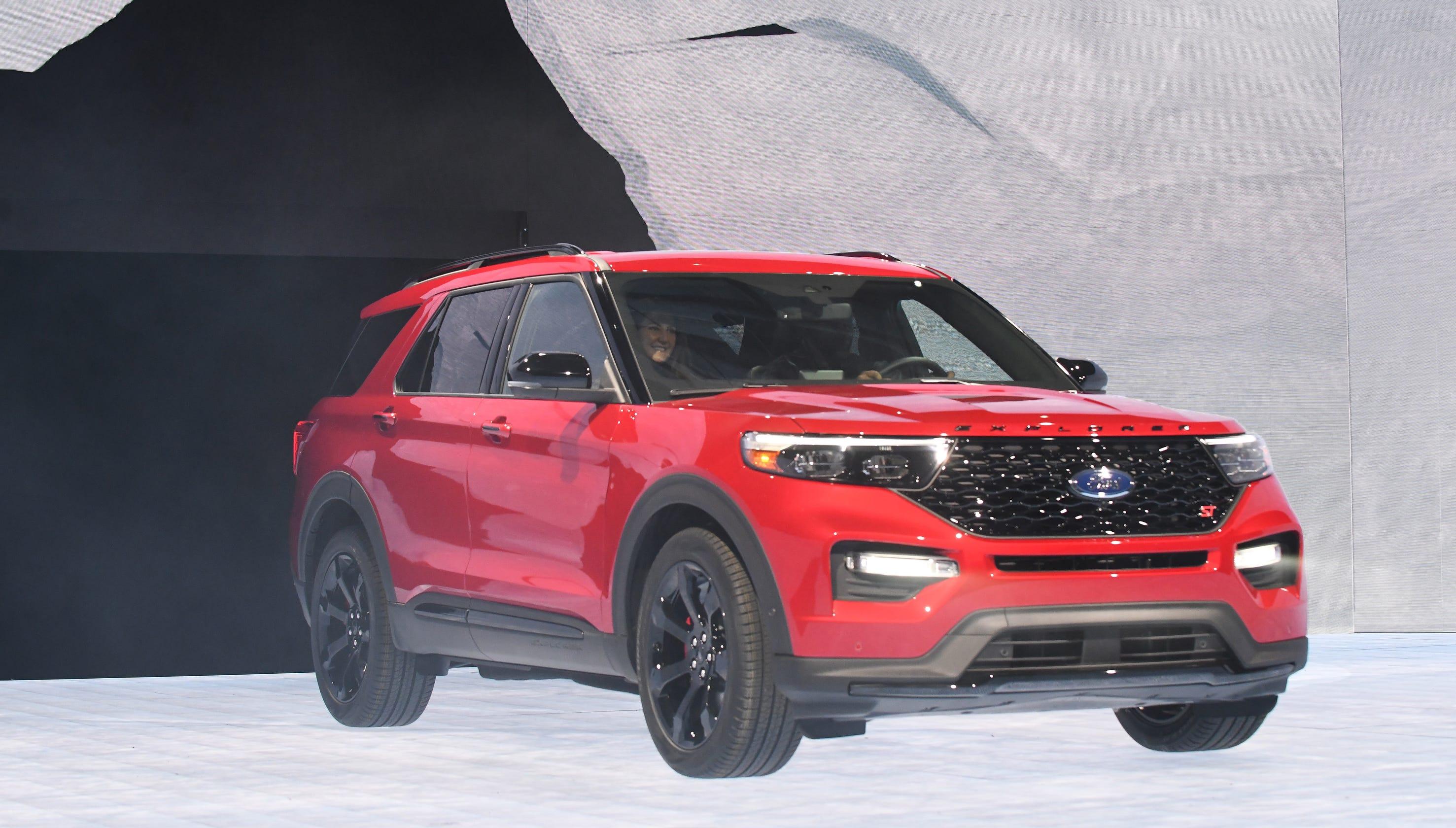 ford explorer st  hybrid versions