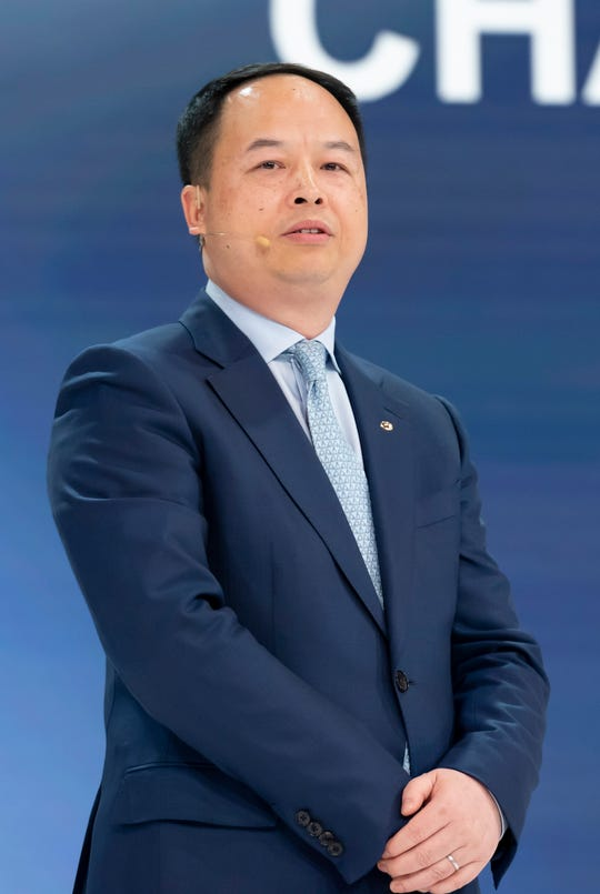 Yu Jun, president of GAC Motor, says the automaker's entry into the U.S. market has been delayed by the deepening trade war between the United States and China.