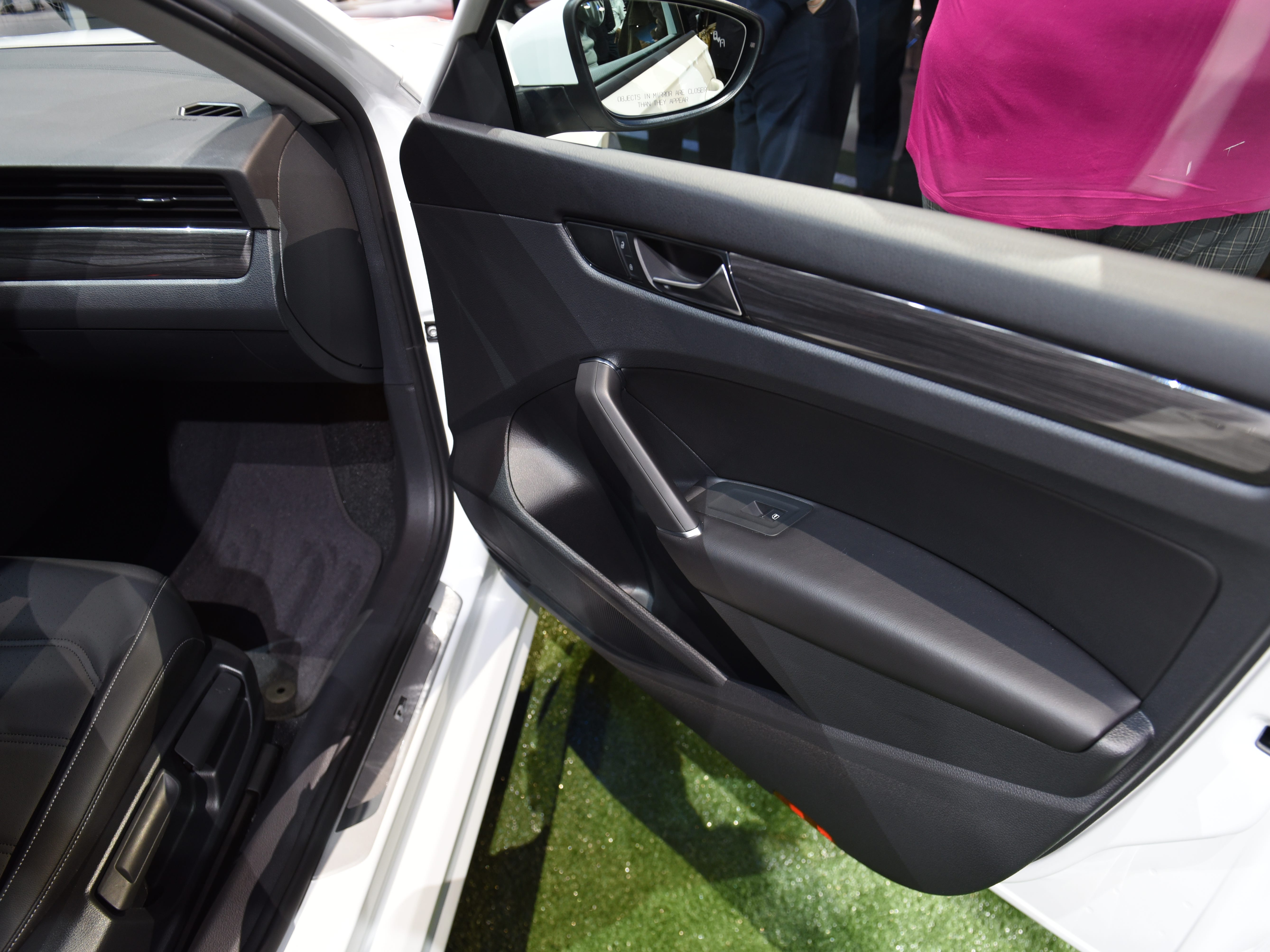 Volkswagen's V-Tex leatherette and Nappa leather seats are available on the 2020 Passat, in addition to the standard cloth seats with four color options.