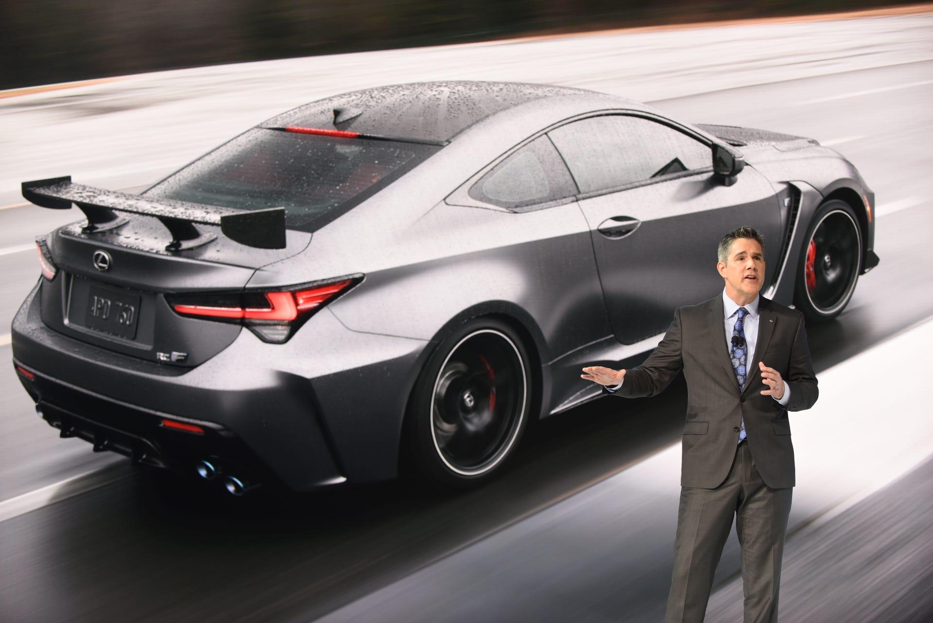 The 2020 Lexus Rc F Track Edition
