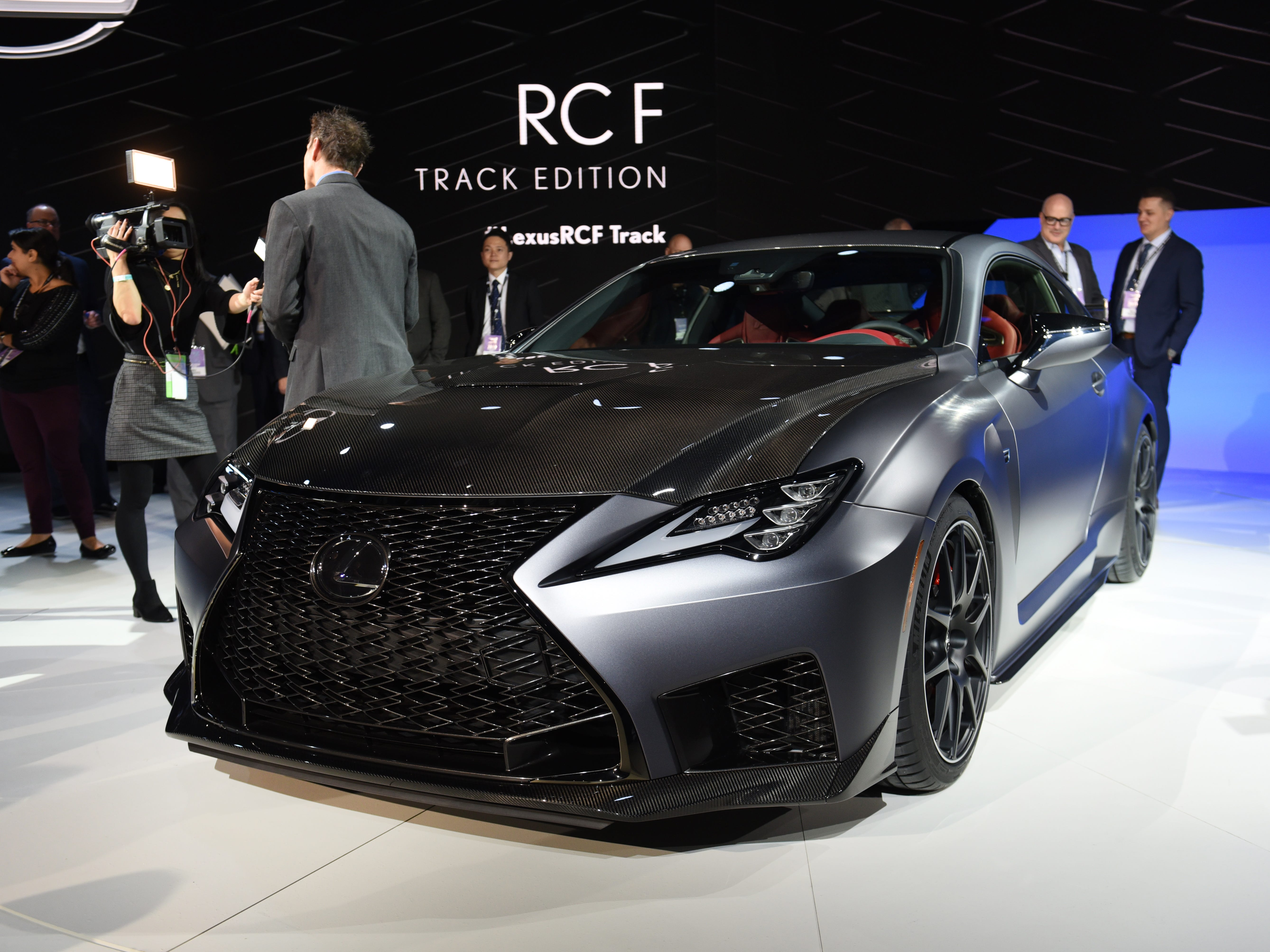 Journalist view The Lexus RC F Track Edition.