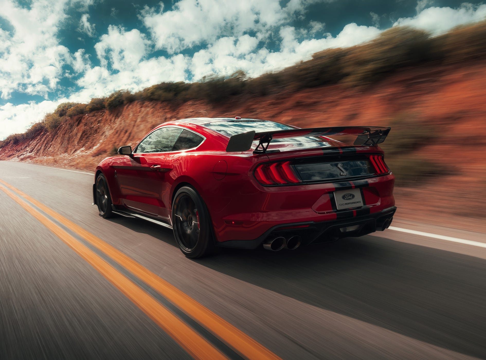 The all-new Shelby GT500