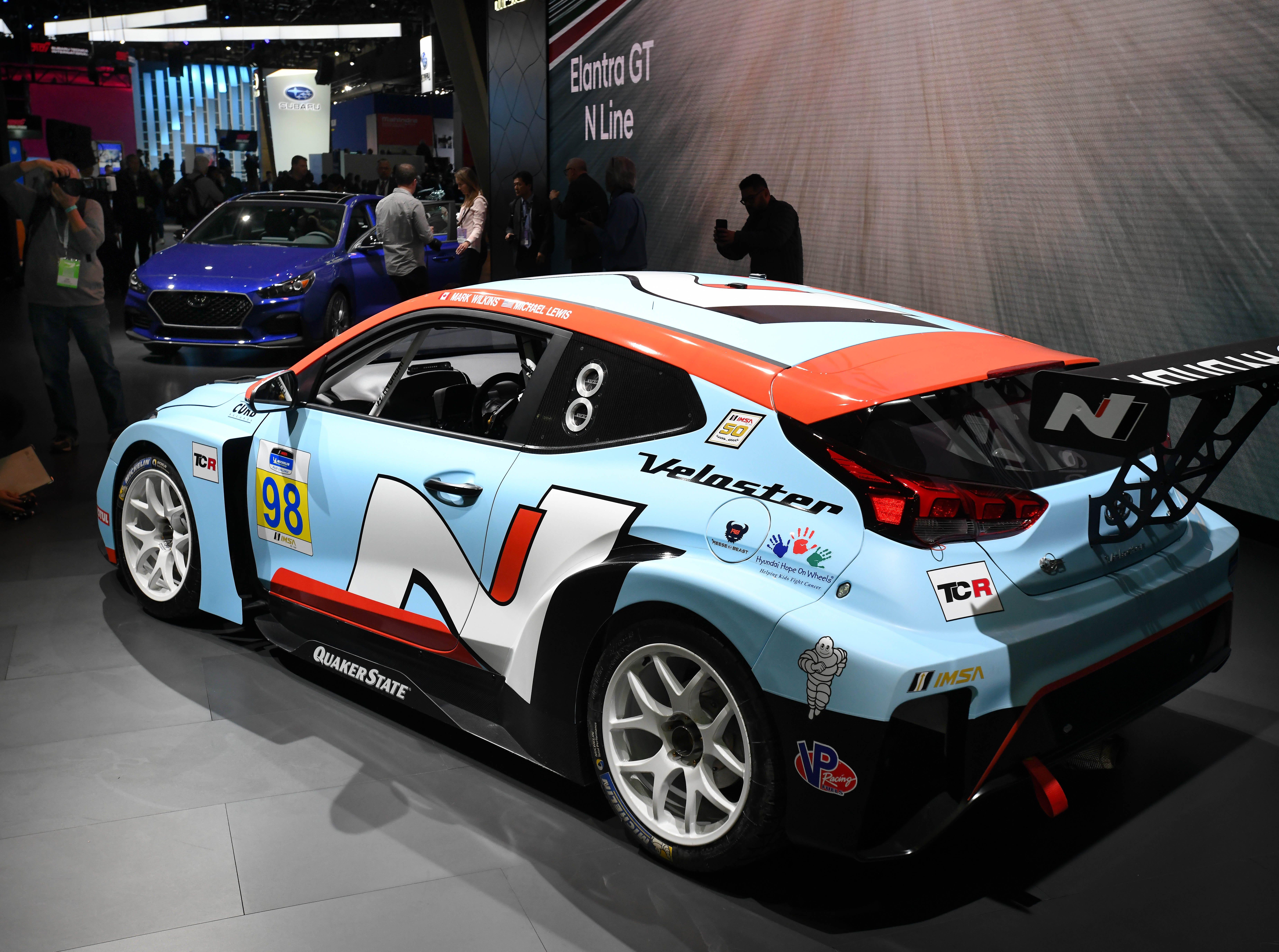 The Hyundai Veloster N TCR.