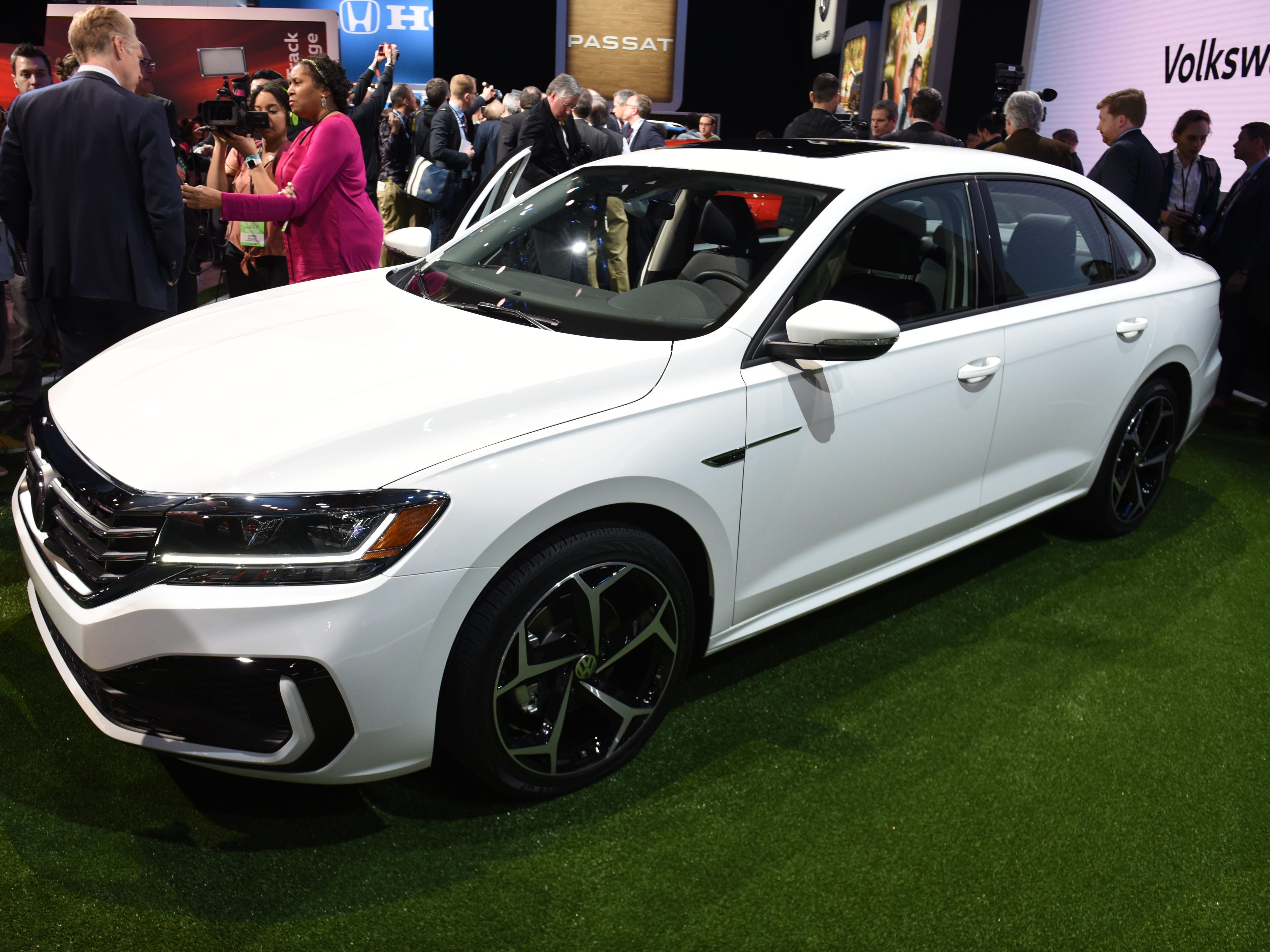 """A coupe-like roofline and a """"tornado"""" line give the car a sportier edge."""