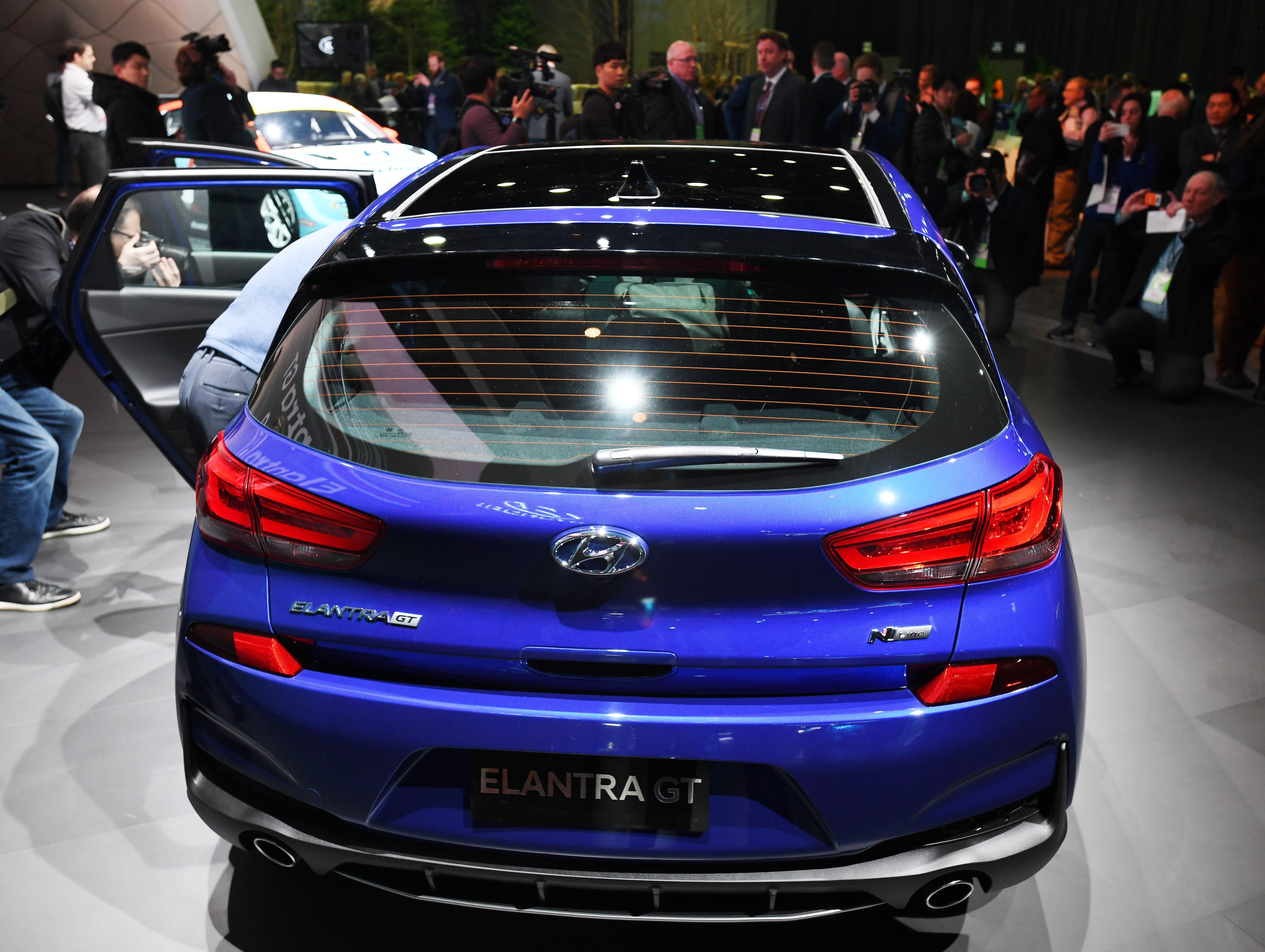 The Hyundai Elantra GT N Line reveal.