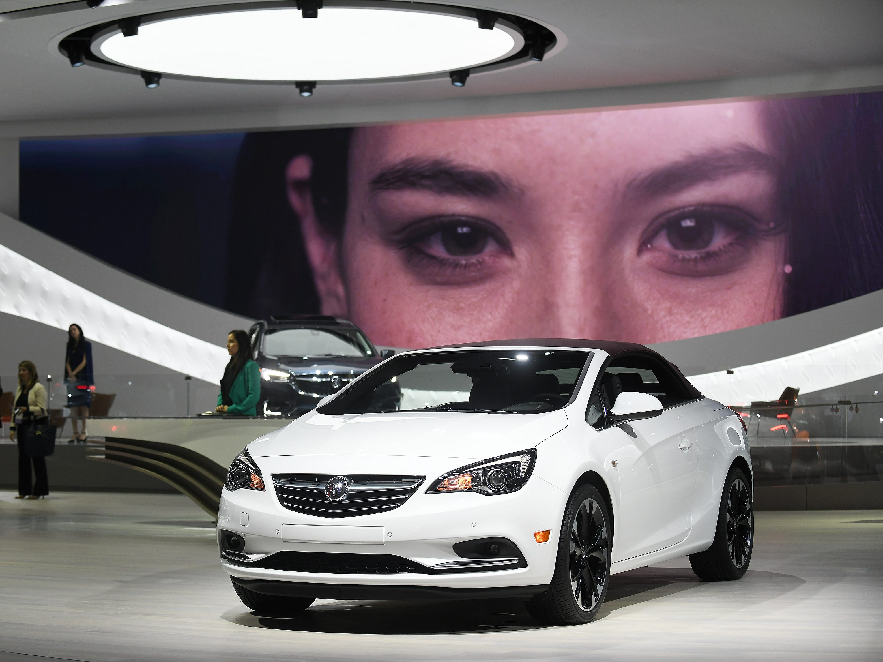 The Buick Cascada on display at the North American International Auto Show at Cobo Center in Detroit on Monday, Jan. 14, 2019.