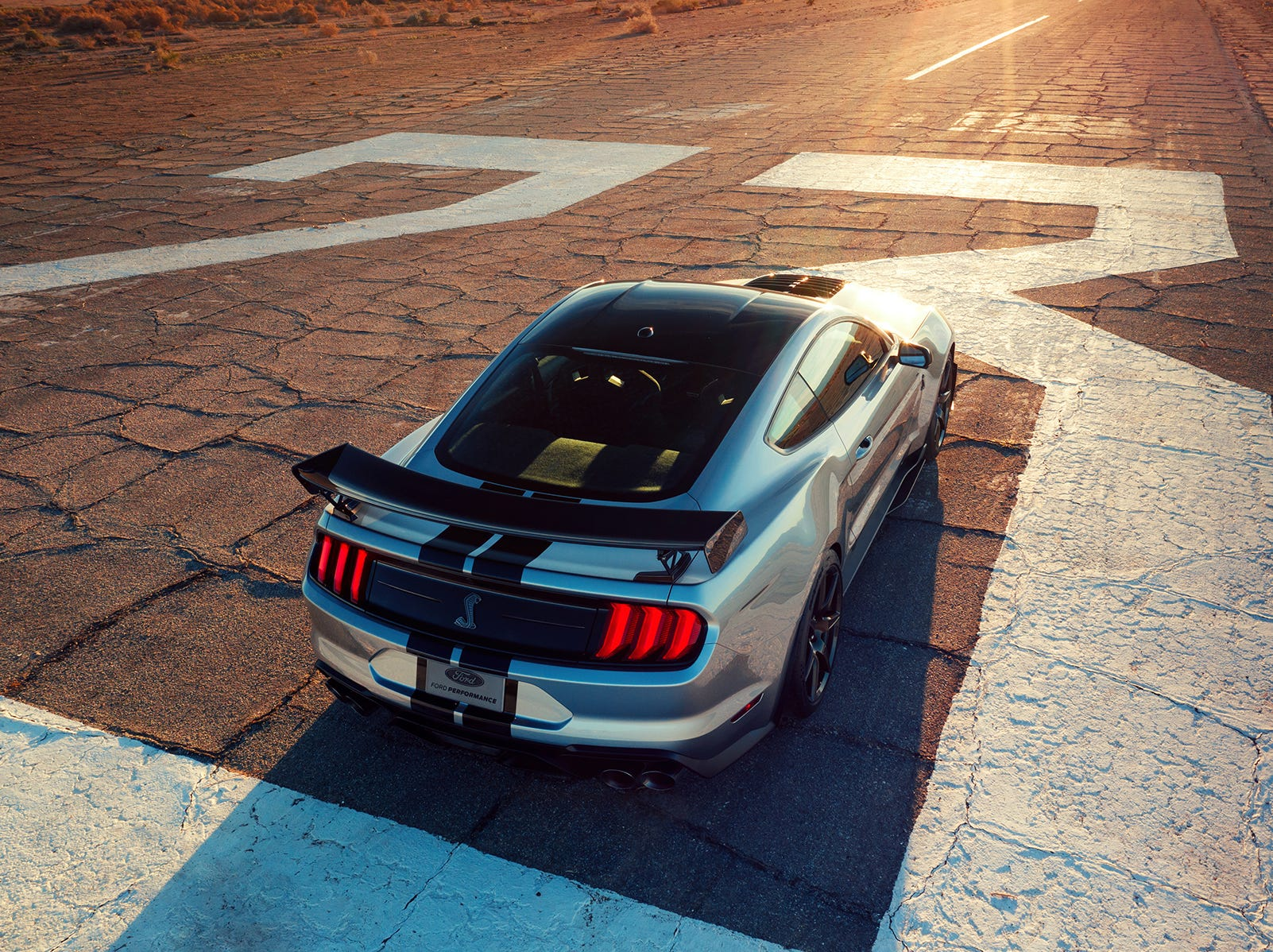 The all-new Shelby GT500 — the pinnacle of any pony car ever engineered by Ford Performance — delivers on its heritage with more than 700 horsepower for the quickest street-legal acceleration and most high-performance technology ever offered in a Ford Mustang.