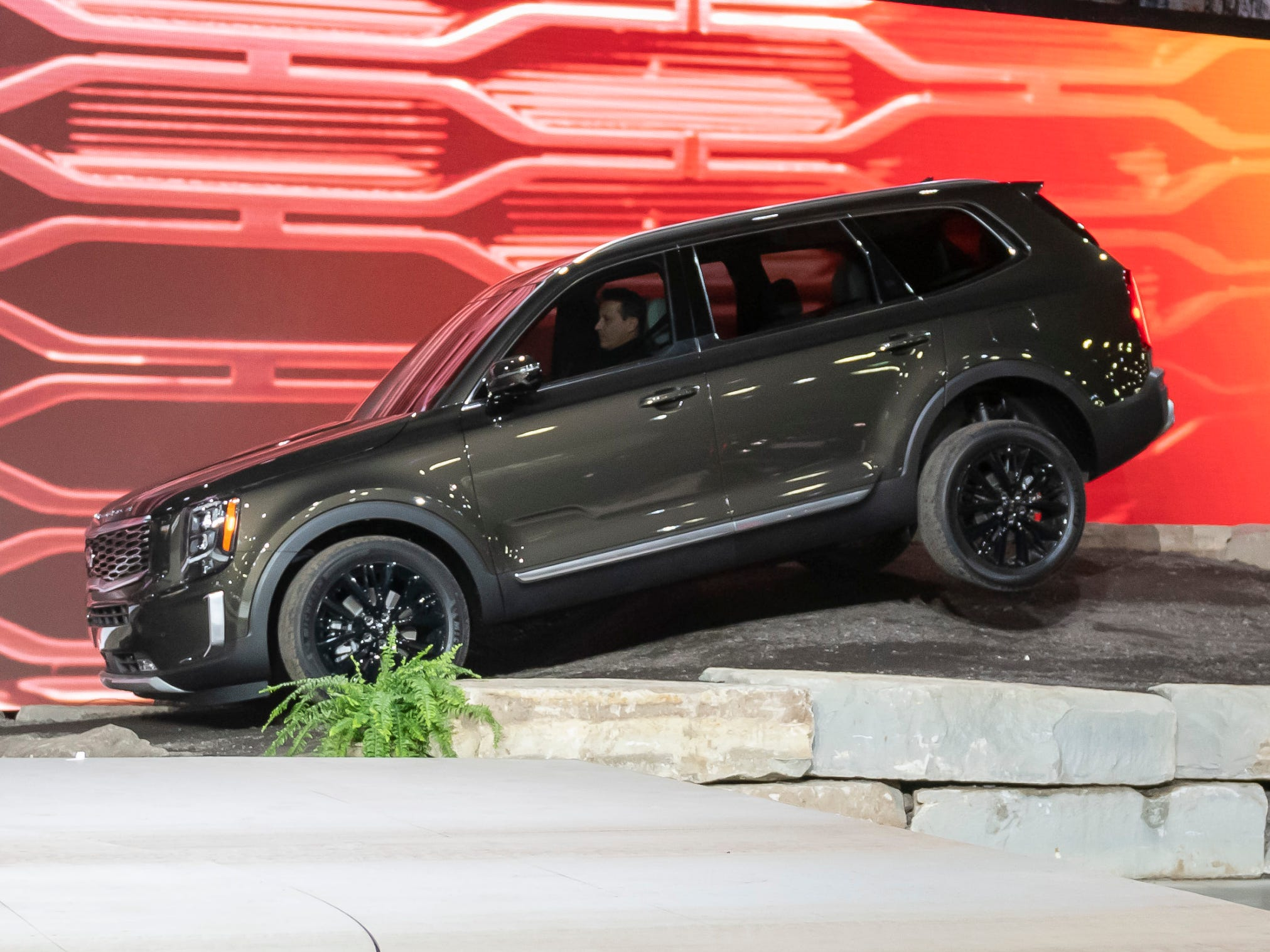 "The Kia Telluride is a big, bold seven-seater, larger than the Kia Sorrento, with a back row large enough for adults. And like most recent Kia additions, Telluride is surprisingly well equipped at a ""value"" price."