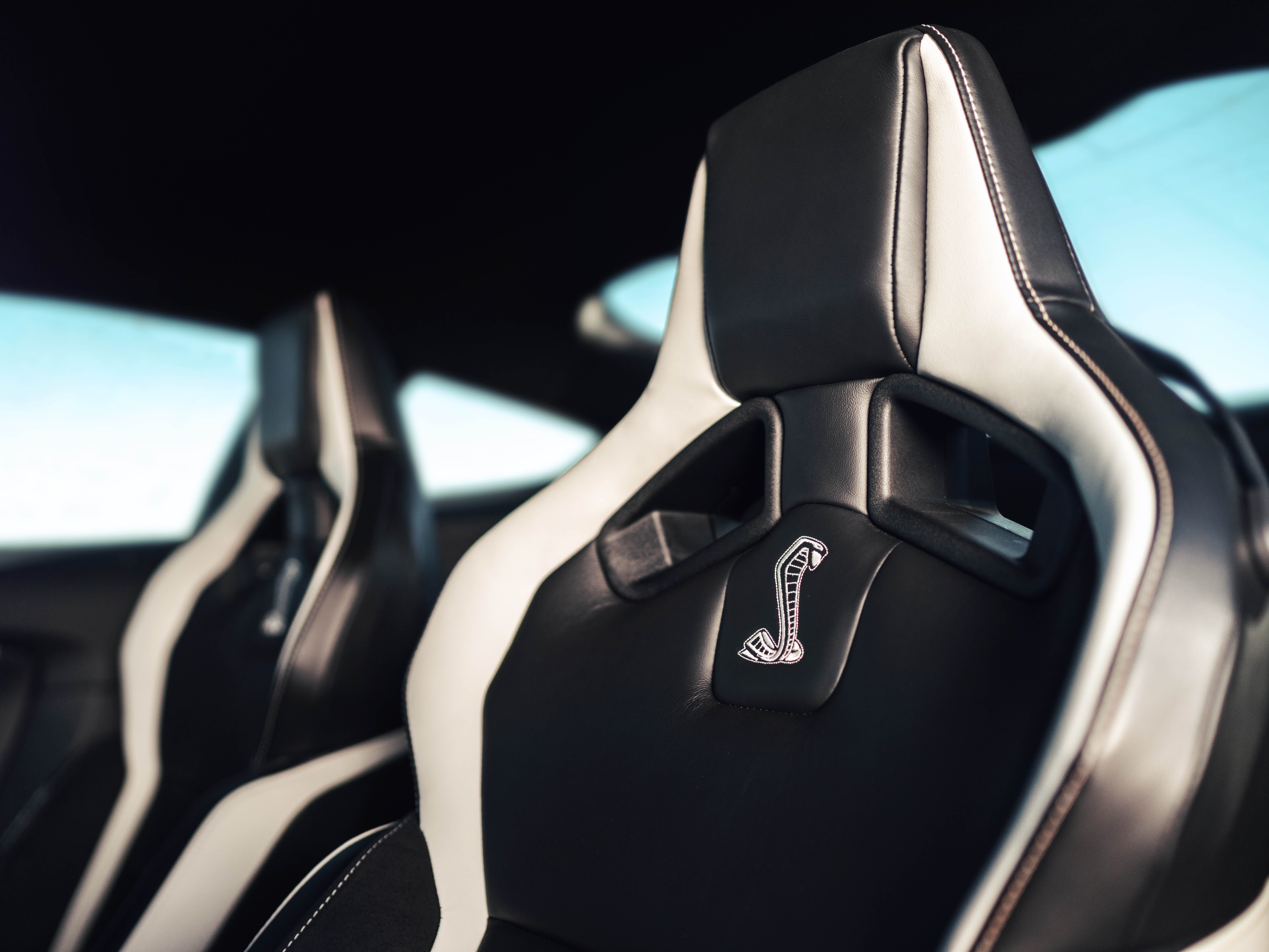 These are the specialized seats in the new Mustang GT500.