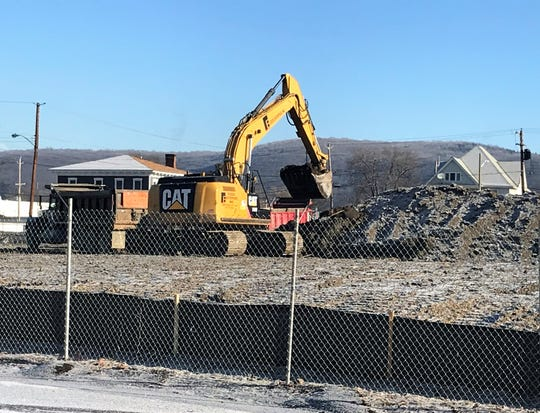 Site preparation is underway for a new medical school in Elmira.