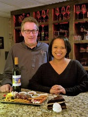 John and Chya Colbert brought the Wine Down to Newburgh out of a love of unusual wine and soul and jazz music.
