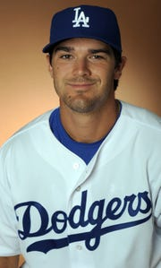 Preston Mattingly with the Dodgers minor league affiliate in 2009.