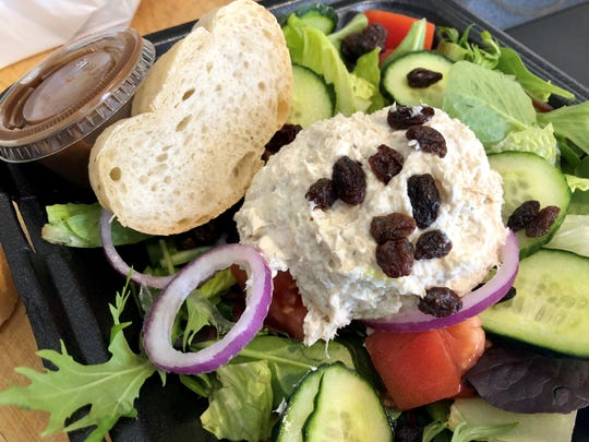 Chicken salad, so simple yet so good, from European-American Bakery Cafe in south Fort Myers.