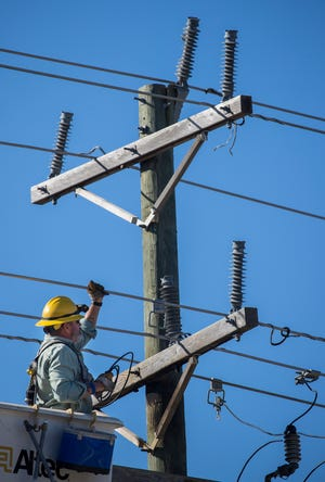 Middle Tennessee Electric has started to implement new technology that slows down the growth of trees in an effort toprevent power outages caused by fallen branches.