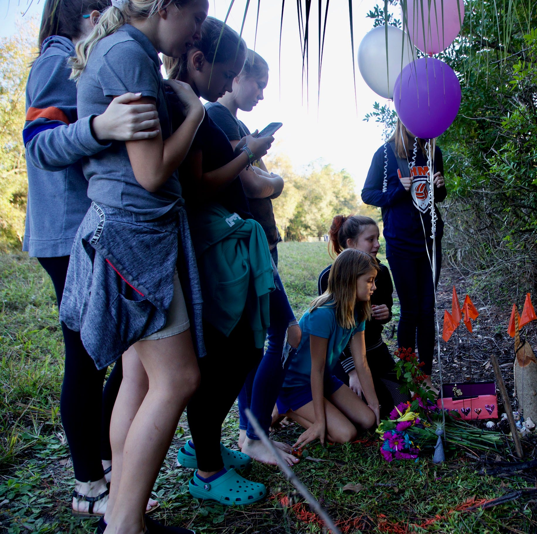 Sisters, friends fondly recall North Fort Myers girl killed while walking from bus stop