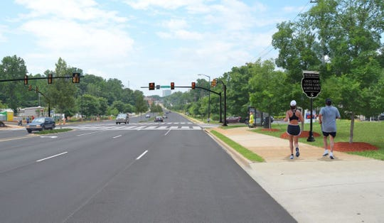 Wade Hampton Boulevard would be beautified if suggestions in the plan are followed.