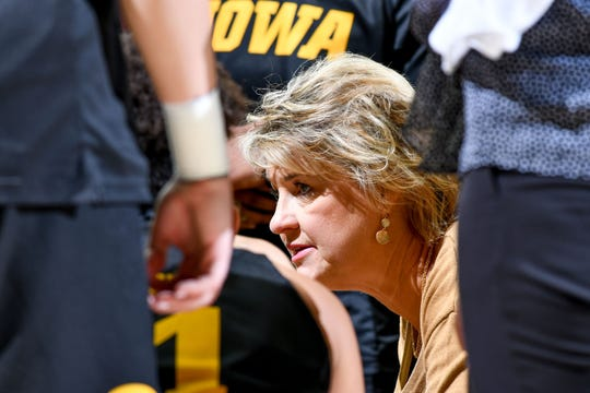 Lisa Bluder and the Hawkeyes had a tough road challenge Monday night at Minnesota.