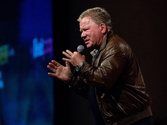 William Shatner will talk about his career Feb. 8 at Old National Centre.